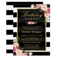 Birthday Party Invitation Birthday Invitations Zazzle