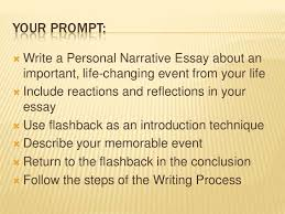 narrative essay about life changing experience paraphrasing  my life changing experience narrative essay