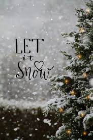 Let it snow | Christmas phone wallpaper ...