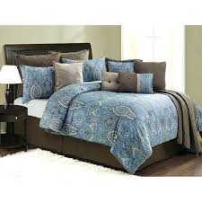 blue queen bedding sets colorful teal comforter set grey twin brown king size