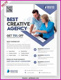 Marketing Flyers Templates Connect Free Business Advertising Flyers Advertisement Flyer