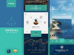 50 Amazing Free Ui Kits For Photoshop Sketch 2017
