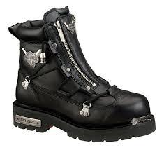 harley davidson brake light black mens twin zip biker ridding boots 9 for