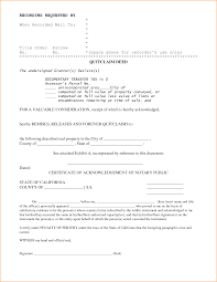 Quick Deed Form Resume Template