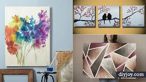 36 cool diy canvas painting ideas ft home design 0
