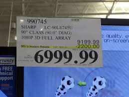 sharp 90 inch 4k tv. samsung 80 inch tv costco - sharp 90 lc 90le745u 4k