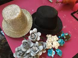 Paper Flower Hats Diy Faux Sugar Skulls For Dia De Los Muertos Cathie Filian