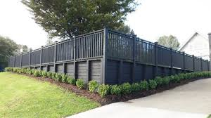 Small Picture Landscaped Retaining Walls Custom Decks and Fences