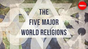 World Religions Chart Worksheet Answers The Five Major World Religions John Bellaimey