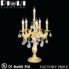 table top chandelier candle holder wedding lamp centerpieces wedding