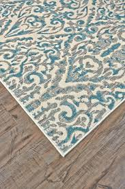 wayfair aqua rug fantastic wildon home claudette ivory area rug