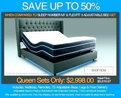 Sleep Number I10 Legacy Adjustable Queen Mattress Set C2 Air How ...