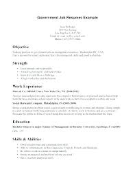 Sample Federal Government Resumes Best of Free Sample Resume For Federal Government Job Sample Resume For