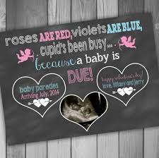 valentines day pregnancy announcement cards pregnancy announcement card valentines day photo pregnancy