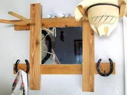 cowboy hat rack over the door for horse trailer wood plans