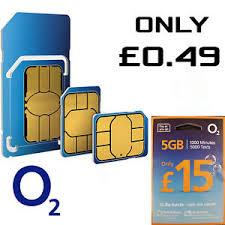 o2 network pay as you go 02 sim card