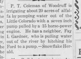 Fay Ivan Gardner pumping water story 1917 - Newspapers.com