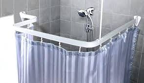 claw foot tub shower rods elegant curved curtain rod for net with clawfoot