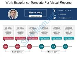 Work Experience Template For Visual Resume Powerpoint Ideas Gorgeous Resume Powerpoint