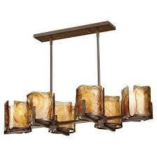 aris 6 light roman bronze billiard chandelier