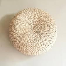 round stool cushions style futon round stool straw steel handmade woven seat cushions home decor free round stool cushions round seat