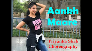 Aankh Maare | Simbaa | Priyanka Shah Choreography - YouTube