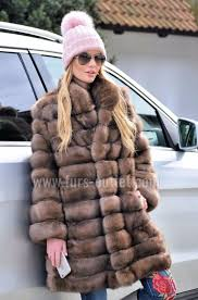 sable furs new natural tortora russian sable fur coat 2017 2018
