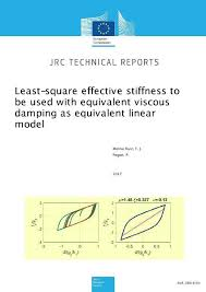 Viscous Damping Least Square Effective Stiffness To Be Used With Equivalent