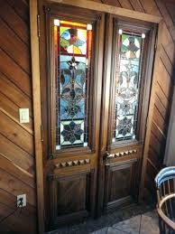 bookcases antique glass door bookcase stained doors for stain