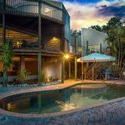 Stunning Waterfront Saltwater Pool Home With Boat Lift and Dock and
