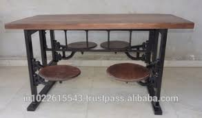 20 Industrial Style Dining Tables  Dining Room IdeasIndustrial Look Dining Table