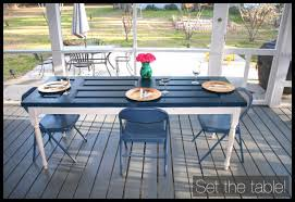 set the dining table