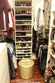 girls walk in closet. 20 Incredible Small Walk In Closet Ideas Makeovers The Happy Girls