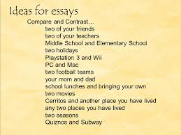 Compare And Contrast Essay On Two Friends Compare And Contrast Essay Compare And Contrast Essays Show