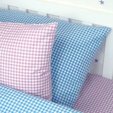 newquay natural gingham duvet cover set double sets