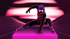 Neon Spiderman Wallpaper 4k - 3840x2160 ...