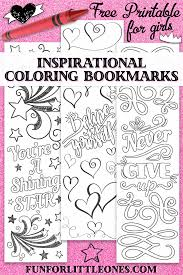 Free, printable easter coloring pages are fun! Girls Inspirational Coloring Bookmarks Fun For Little Ones