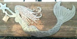 outdoor mermaid decor strikingly idea wooden mermaid wall art together with metal painted hanging garden creative outdoor decor handmade carved outdoor