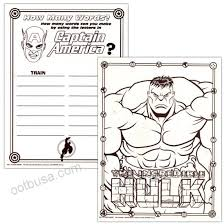 Red Book Growth Chart Marvel Heroes Spiderman Coloring Book Set With 2 Books
