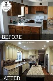 kitchen cabinets painted white before and afterBest 25 Before after kitchen ideas on Pinterest  Updated kitchen