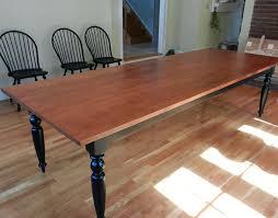 turned leg dining table. Dining Table Turned Legs Maple Tiger Room Leg