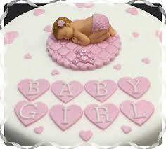 Cake Toppers Handmade Baby Girl Cake Topper Plaque Baby Shower