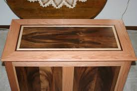 how to make a cedar blanket chest