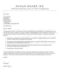 Sample Cover Letter For New Grad Nurse Rn Cover Letter Samples Example Nursing Cover Letter Sample Cover