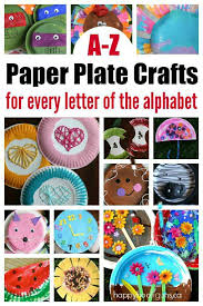 A Z Paper Plate Crafts for Every Letter of the Alphabet Happy Hooligans 2 19 17 AM
