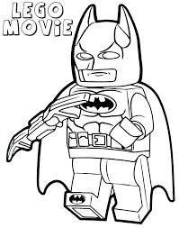 Picture Christmas Batman Coloring Pages 21 Printable Lego Movie