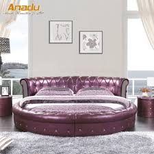 modern round beds.  Modern 2017 New Modern Round Leather Soft Bed RT8750 On Modern Round Beds D