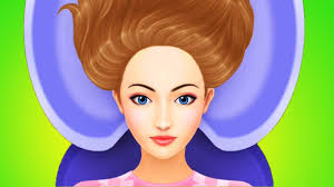 fun s care games angelina s beauty makeover hair salon makeup spa dress up gameplay