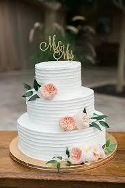 Simple And Elegant Spring Flowered Wedding Cake Wedding Option 2
