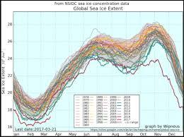 Global Sea Ice Chart